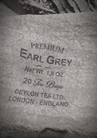 Shabby doek smal Earl Grey