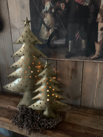 Xmas tree antique gold