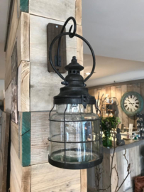 stoere Metal led  Lamp Cage (S)