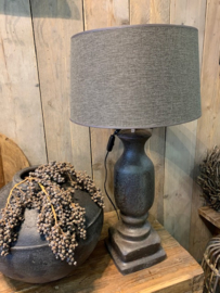 Stoere grote Baluster Lamp