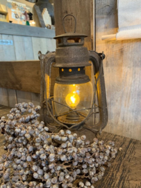 Oude led  lantaarn / stormlantaarn ( M )