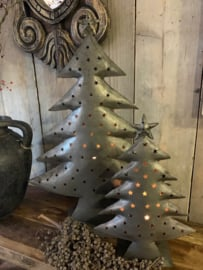 Xmas tree antique steel