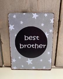 Houten tekstbord, Best Brother
