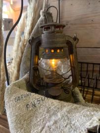 oude led lantaarn stormlamp (S).