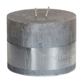 PTMD kaars Metallic taupe 9x12