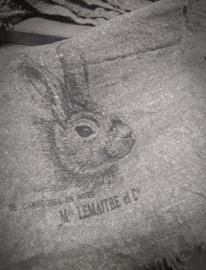 Shabby doek smal konijn