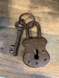 Slot met 1 sleutel