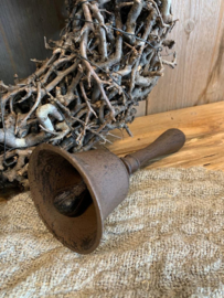 handbel gietijzer landelijk brocant