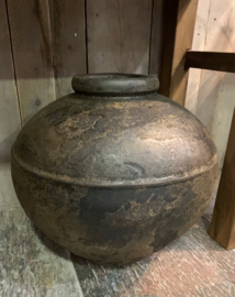 Grote Stoere pot Antique Brown