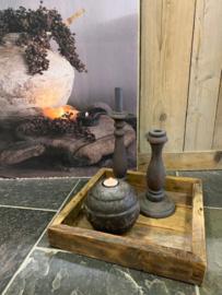 Oud houten dienblad / tray