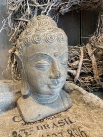 Buddha hoofd sand