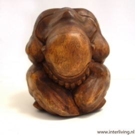 "huilende Boeddha of ""orang malu"""