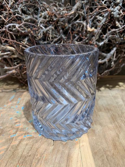 Party light glas grijs