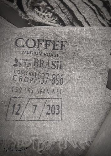 Shabby doek smal Coffee