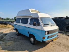 Volkswagen T3 camper bj 1984 1900 turbo diesel 5 bak apk  27-05-2023 gereserveerd