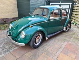 Net binnen Volkswagen Kever 1968 verkocht