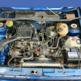 Volkswagen Golf 1 cabrio bj 1986 verkocht