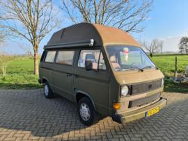Volkswagen T3 camper bj 1986 1.9 benzine Verkocht