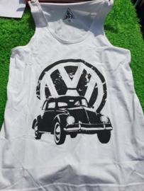 Tank Top Volkswagen Kever wit