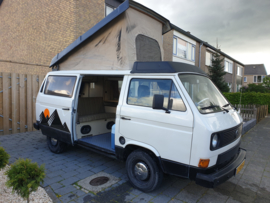 Volkswagen T3 Westfalia Joker 4 pers bj 1981 verkocht