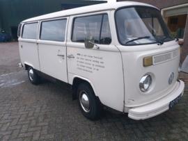 Volkswagen T2 b 8 pers bj 1974 nw motor verkocht