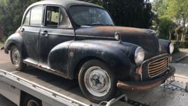 Minor Morris 1000 bj 1965 restauratie compleet kenteken