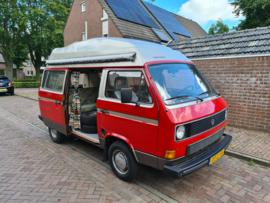 Volkswagen T3 camper bj 1982 1600 T diesel 5 bak verkocht