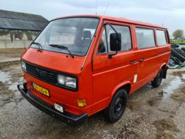 Volkswagen T3 8 persoons brandweerbus bj 1981 verkocht