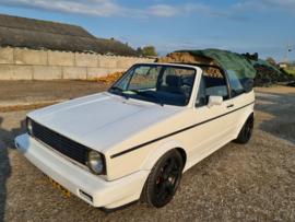 Volkswagen Golf 1 Cabrio vr6 1986 nieuw dak verkocht