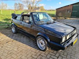 Volkswagen Golf 1 cabrio bj 1986  nw Sonnerland dak verkocht