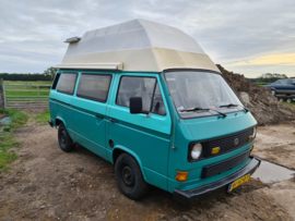 Volkswagen T3 camper bj 1983 diesel  2 + 2 persoons apk 4-2022