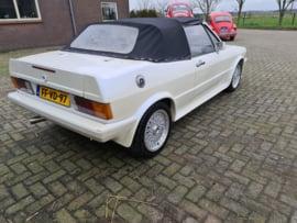 Volkswagen Scirocco 1 GTI automaat cabriolet bj 1980 verkocht