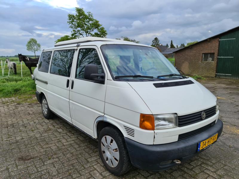 Volkswagen T4 camper bj 2002 2.5 102 pk verkocht