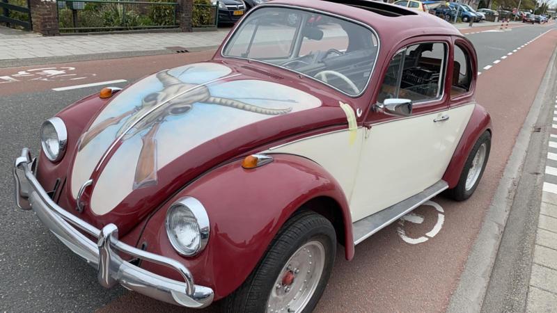 Volkswagen Kever bj 1968 body of resto alleen afbouwen 1600 AE snelle revisie motor empi