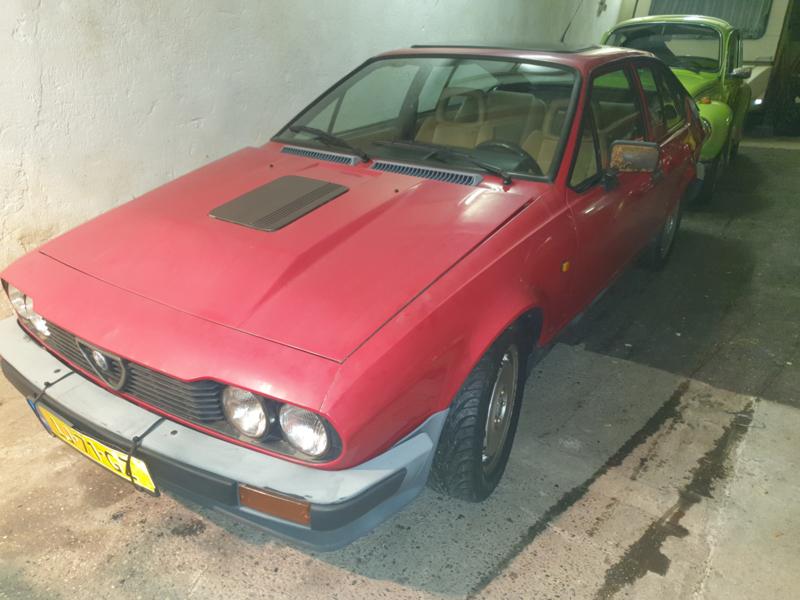 Alfa Romeo GTV 2.5 6 cilinder bj 1981 Verkocht