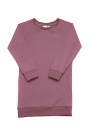 Sweaterdress Jasmijn framboos