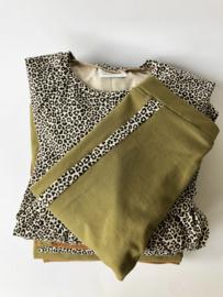 Jurkje Olivia leopard