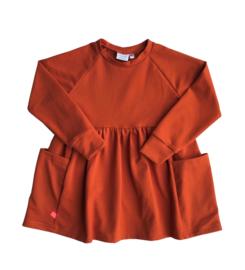 Jurkje met zakken oranje