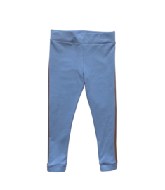 Legging blauw bruin