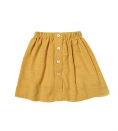 Knopenrok geel