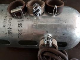 Handgemaakte leren ringen