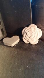 Diverse kleine beton accessoires (2 stuks)