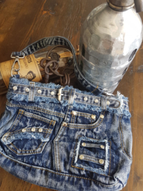Denim jeans tassen