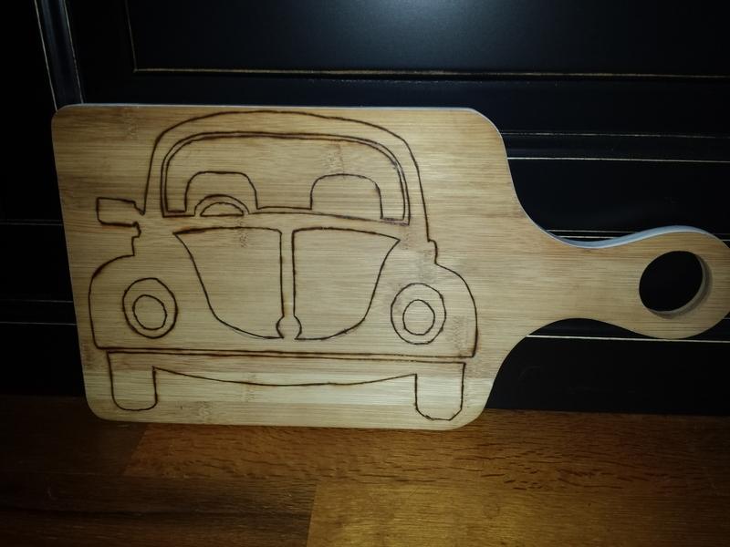 """Tapas plank VW """"Kever"""""""