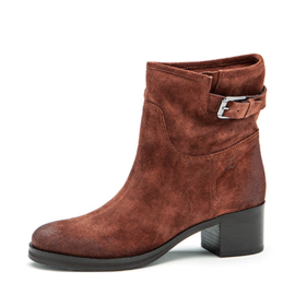 Bibi low boot in 'Rusty'