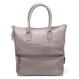 Rose tote bag in 'Grey'