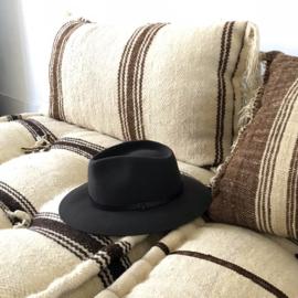 Brasil hat in 'Dark Grey'