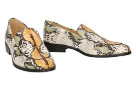 Ylva loafer, 'Multi' python
