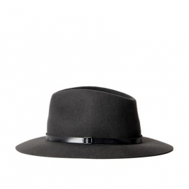 Brasil hat in 'Dark Grey'