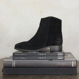 Sylvia slanke laars 'Black' suede | FELIZ shoes